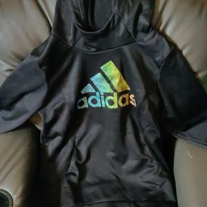 Girls Adidas pullover hoodie (youth small 7/8)